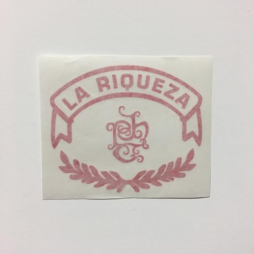 Tatuaje La Riqueza Logo Vinyl Decal