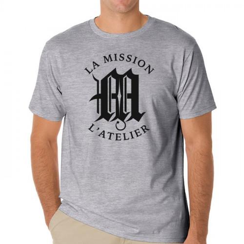 L'Atelier La Mission Logo Shirt - Gray