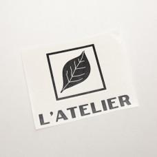 L'Atelier Logo Vinyl Decal