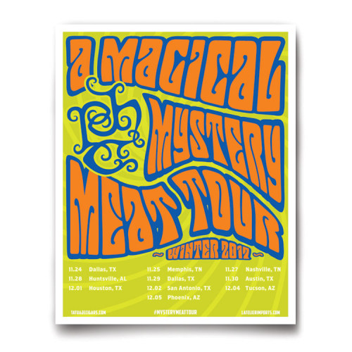Magical Mystery Meat Tour Poster