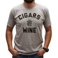 Cigars & Wine Logo Shirt