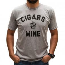 Cigars & Wine Logo Shirt