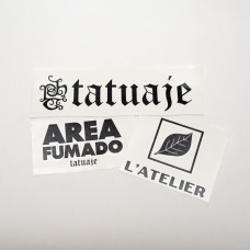 Tatuaje Vinyl Decal Pack