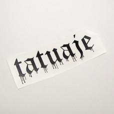 Tatuaje Drip Logo Vinyl Decal