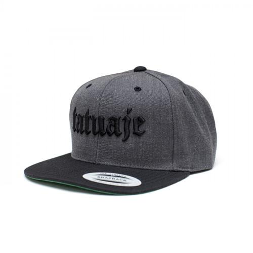 Snapback Grey/Black 2-Tone