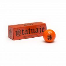Tatuaje 3-Pack Golf Balls - Orange