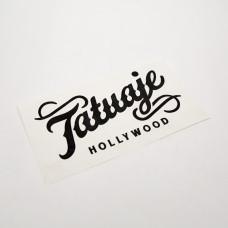 Tatuaje Script Logo Vinyl Decal