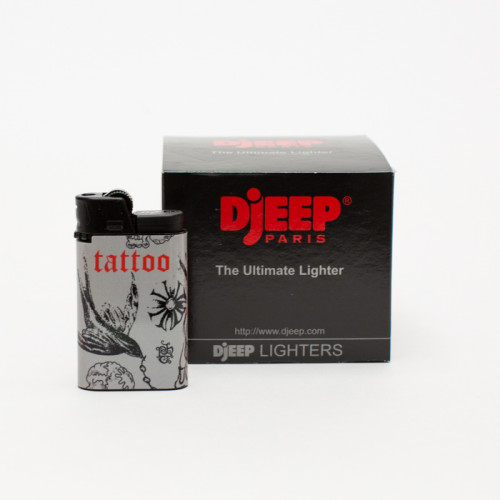 DjEEP Tatuaje Grey Lighters (Box of 10)