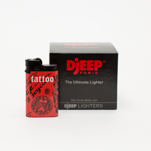 DjEEP Tatuaje Red Lighters (Box of 10)