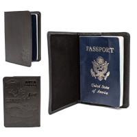 Passport Cover Black