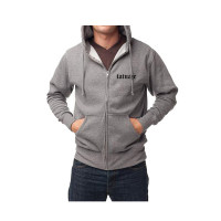 Private Reserve Zip Hoodie - Grey