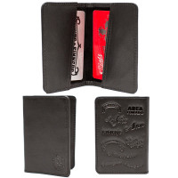 Black Tatuaje Card Holder