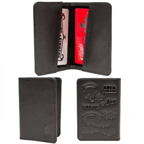 Black Tatuaje Card Holder