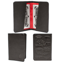 Tatuaje Card Holder w/ Red Lining