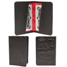 Tatuaje Card Holder w/ Red Lining